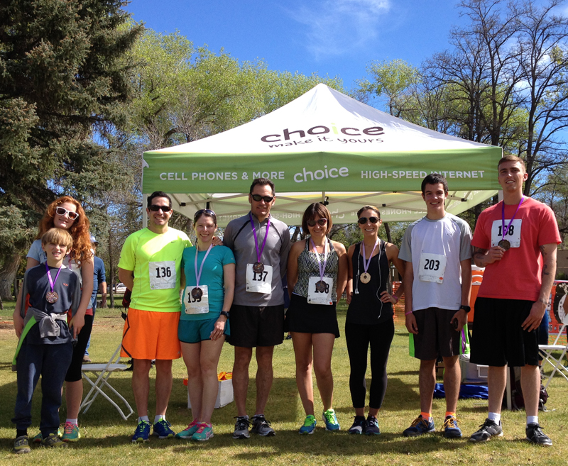 Winners of the 2015 Taos Lilac Festival 5K