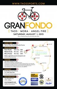 Gran Fondo Taos Poster